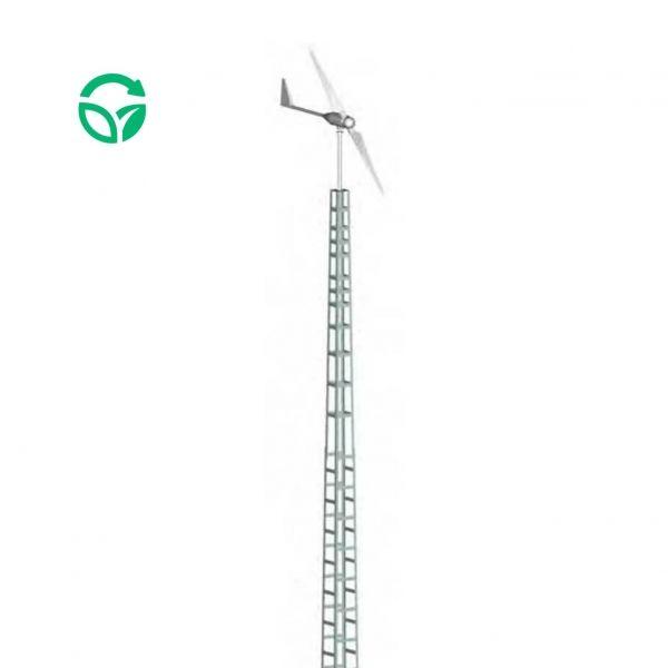 torre cuatripata aerogenerador bornay