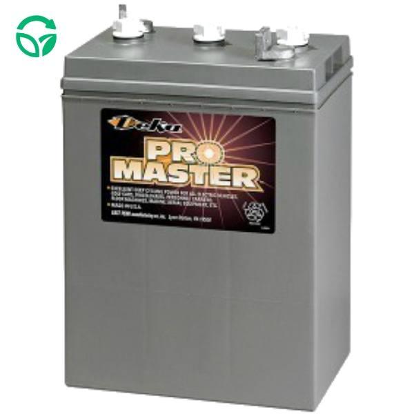 Bateria solar monoblock Deka 6 voltios