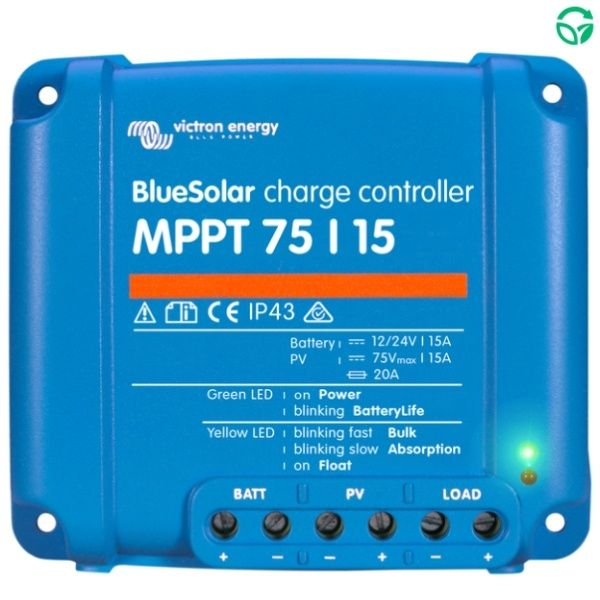 Regulador solar mppt BlueSolar 75-15