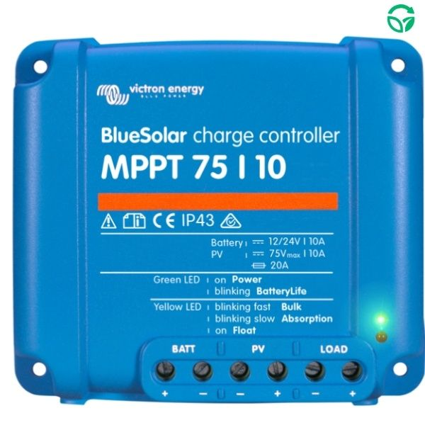 Regulador solar mppt blueSolar 75-10
