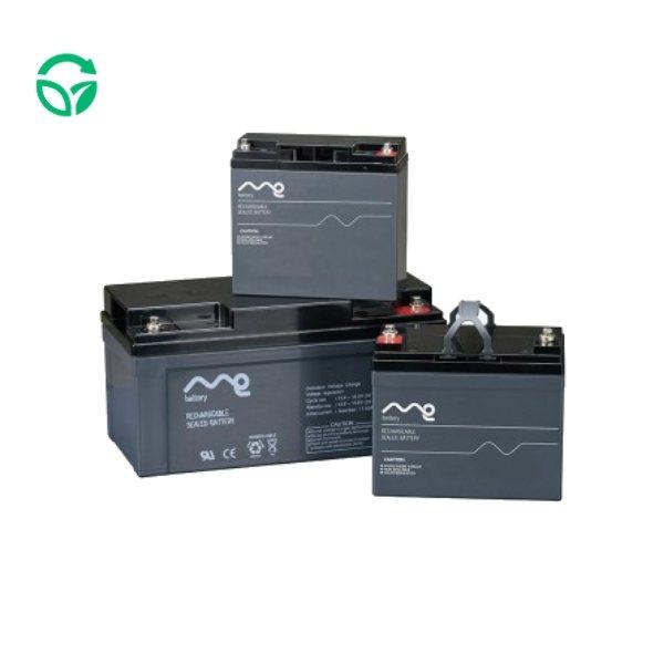 Batería solar monoblock 12 voltios