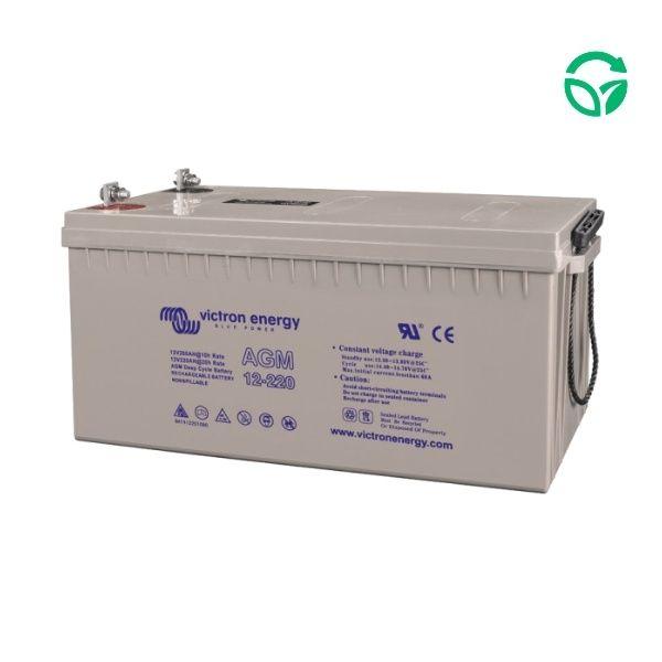 Batería solar monoblock 220ah Genera