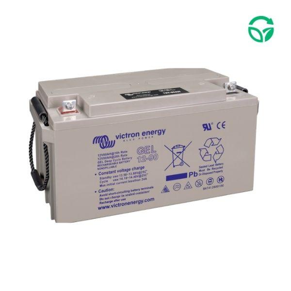 Batería solar monoblock gel