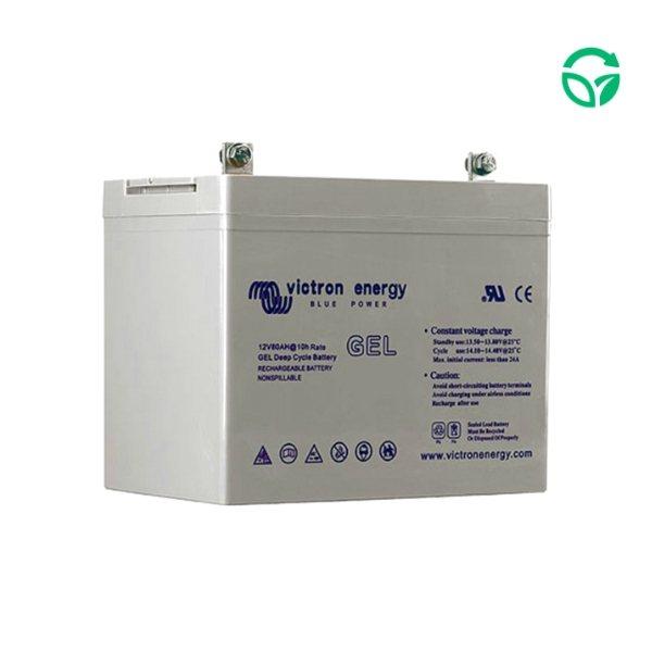 Bateria solar monoblock gel Genera