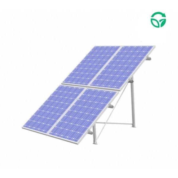 Soporte panel solar sobre suelo Genera