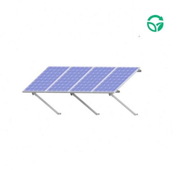 Soporte placas solares sobre pared