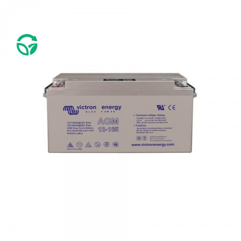 batería monoblock 165ah agm