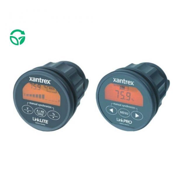 monitores de baterías solares xantrex