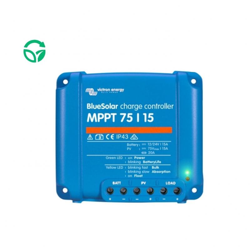regulador solar victron mppt blue solar 75-15