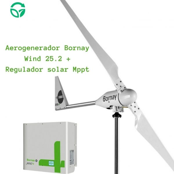 kit eólico doméstico bornay wind