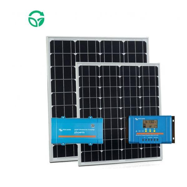 kit autoconsumo para barcos con inversor solar