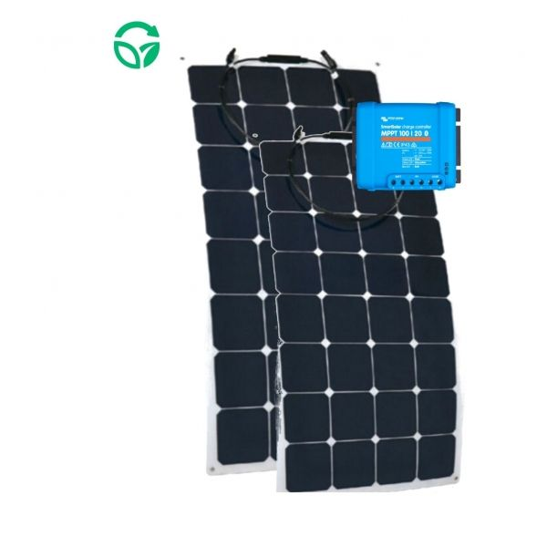 kit solar para barcos placa flexible