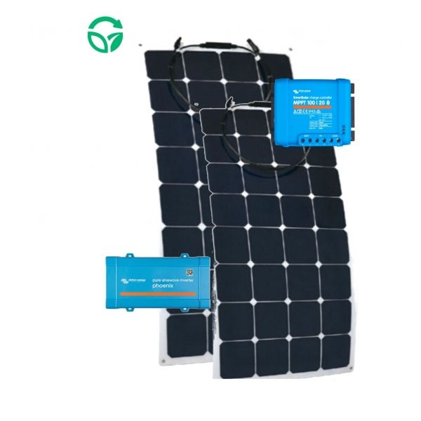 placas flexibles kit solar