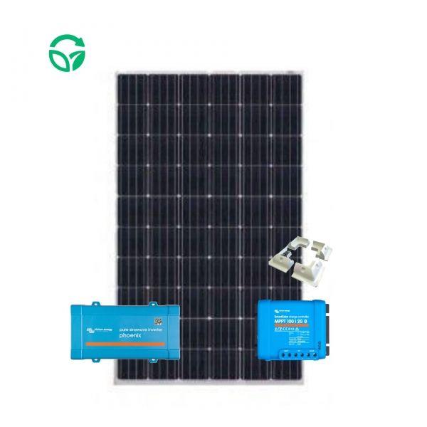 kit solar con inversor para caravana