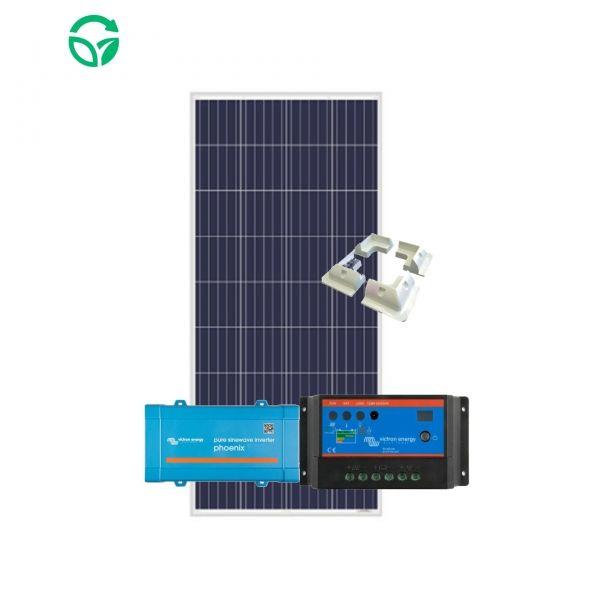 kit solar para furgoneta con inversor