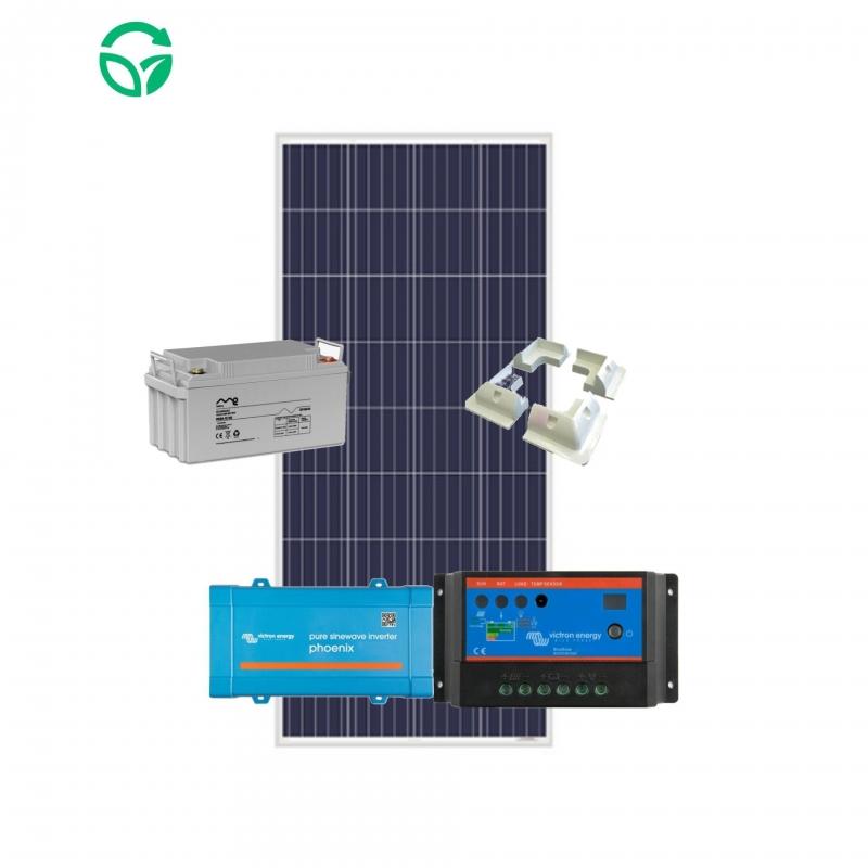 kit solar para furgoneta con batería