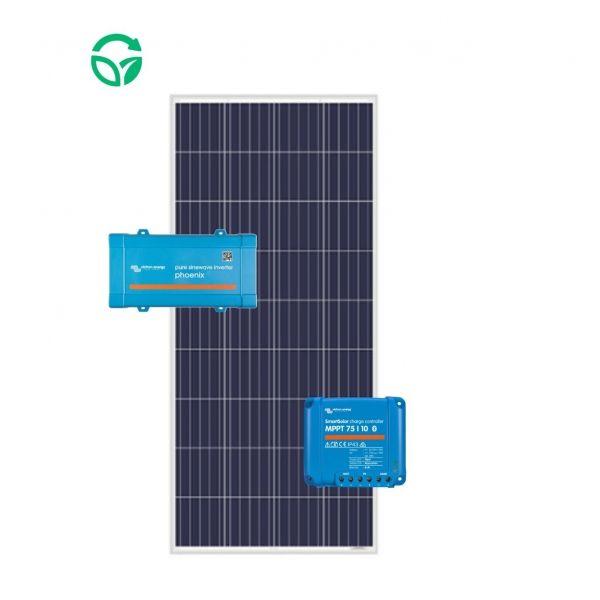 kit solar para barcos 12v con inversor solar