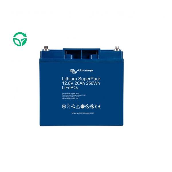 Batería de litio victron 20ah super pack