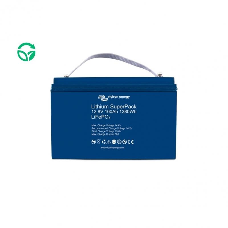 Batería litio victron 100ah super pack