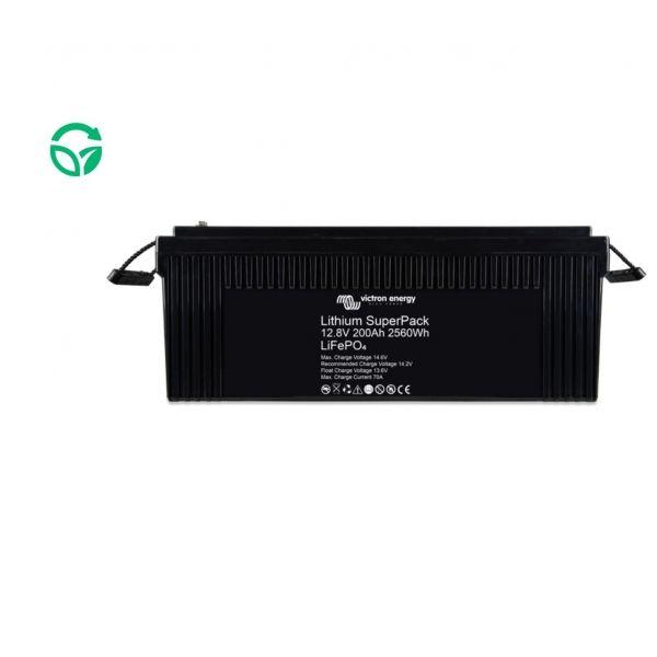 Batería de litio victron 200ah super pack
