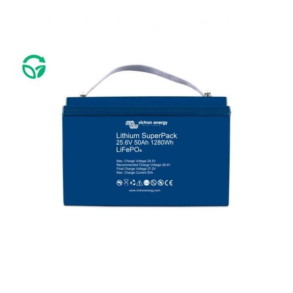 Batería de litio victron 50ah 25,6 super pack